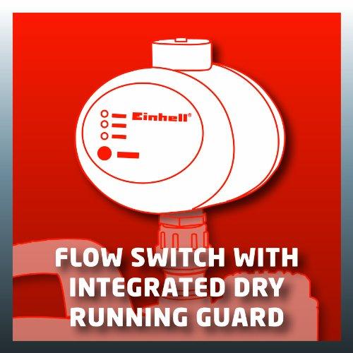 Einhell Hauswasserautomat GE-AW 9041 E (900 W, 4100 l/h Fördermenge, max. Förderhöhe 48 m, Vorfilter mit integriertem Rückschlagventil) - 13