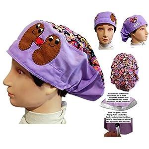 Hüte einer Krankenschwester Kaschmir Niere Chirurg, Tierarzt, Zahnarzt, Krankenhaus. Angepasst mit Ihrem Namen in Optionen.