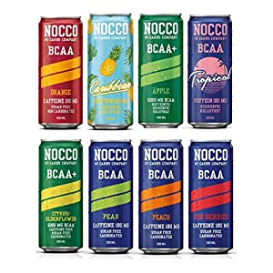 51K6 %2BfKhYL. SS300  - NOCCO (No Carbs Company) Mixed Case (12x 330ml cans) ALL FLAVOURS