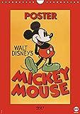 Disney Classic-Poster Mickey Mouse (Wandkalender 2017 DIN A4 hoch): Das ideale Geschenk für Fans der klassischen Mickey Mouse (Monatskalender, 14 Seiten ) (CALVENDO Spass)
