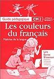 Image de Maîtrise de la langue CM2 : guide pédagogique