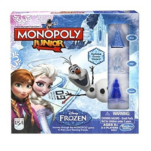 Official Disney Frozen Monoploy Junior Board Game **NEW** Listed & Sold by Get A Gift UK
