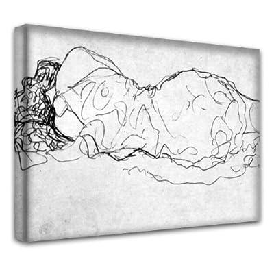 """""""Klimt Sammlung 2"""", Kunstdrucke Leinwandbild Bild Malerei Wandbilder. Größe 20"""" x 30"""" - 51 x 76 cm. Verschiedene Größe und Designs erhältlich."""