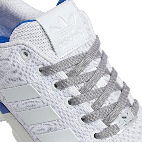 Adidas Zx Flux, Scarpe sportive, Uomo Multicolore (Ftwwht/Ftwwht/Blubir)