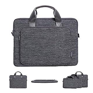 Acxeon Business Laptop Tasche Messenger Sling Umhängetasche Notebook Laptop Tragetasche (13,3 Zoll)