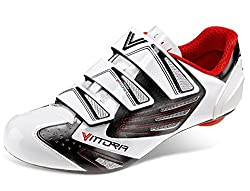 Vittoria V Flash Cycling Shoes White 39.5 M EU / 7.3 D(M) US