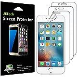 JETech Pellicola Protettiva Compatible con iPhone 6s Plus e iPhone 6 Plus, Trasparente, Pacco da 3