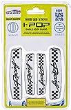 ATZ -iPOP Door Guard-Racing with Original 3M Tape(White)