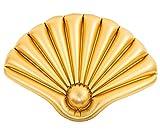 HappyPeople Surfer Muschelaufgeblasen 90x62x8 cm,unaufgeblasen 108x70 cm,Farbe: Gold
