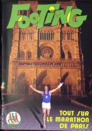 FOOTING [No 1] du 10/05/1979 - TOUT SUR LE MARATHON DE PARIS.