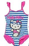 Hello Kitty Badeanzug in 2 verschiedenen Farben (116-122, Blau/Pink)