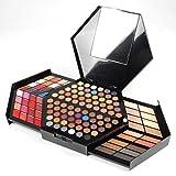 PhantomSky 130 Farben Professionelle Beauty Kosmetik Lidschatten Palette Make-up Konturing Kit Beautycase Schönheit Set