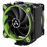 ARCTIC Freezer 33 eSports Edition - Ventilador para caja de ordenador I 2 ventiladores de 120 mm I 200 a 1 800 RPM I Muy silencioso - Verde