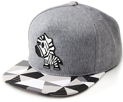 sujii PAPER ZEBRA B-Boy Hip Hop Snapback Hat Trucker Baseball - Bboy-baseball-cap