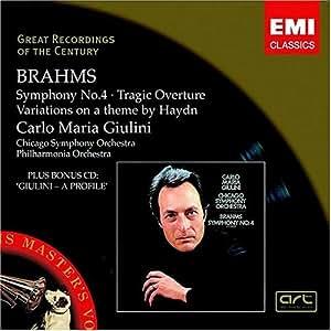 Brahms:Symphony No.4 [Import allemand]
