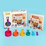 Chefclub KIDDOZ Set für Kinder - Heute bist du der Koch mit praktischen KIDDOZ-Messbechern