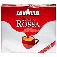 Lavazza Rossa, Miscela di Caffè Macinato - 2 x 250 gr - Totale: 500 gr
