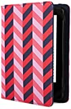 Jonathan Adler Herringbone Hülle für Kindle, Kindle Paperwhite und Kindle Touch, Navy Blue/Pink