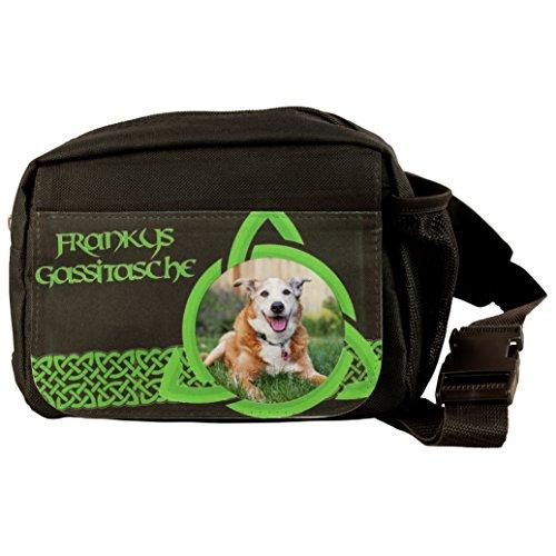 Geschenke 24: Hunde-Gassitasche - personalisierte Umschnall-Tasche mit Name und Foto