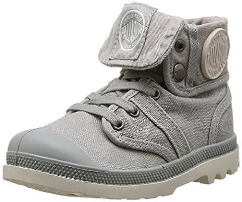 Palladium Baggy, Boots mixte enfant - Gris (Grey/Taupe), 31 EU