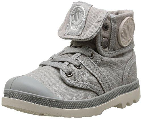 Palladium Unisex-Kinder Baggy Stiefel, Grau (Grey/Taupe), 28 EU
