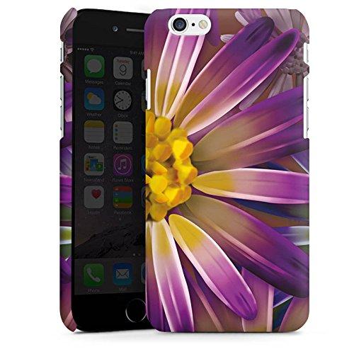 Apple iPhone X Silikon Hülle Case Schutzhülle Lila Blume Blüte Premium Case matt