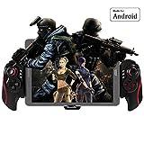 BEBONCOOL Manette de jeu Bluetooth Android sans fil pour Smartphone Android/ Tablette/ TV Box/ Gear VR/ Emulateur