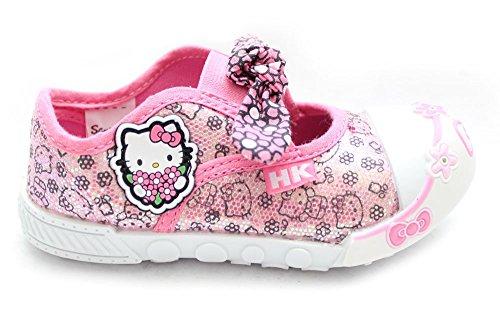 Opplandnorway.kgm Classic, Hello Kitty, für Kinder, Mädchen Sneaker EU Pumps Schuhe Size Rose