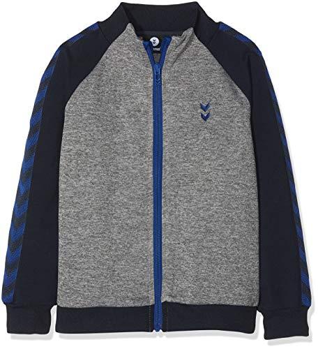 Hummel Jungen HMLORLA Zip Jacket Jacke, Medium Melange, 152