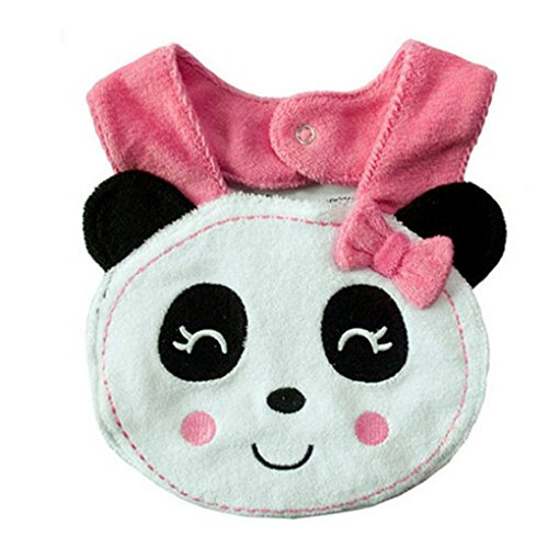 Tongshi Infante bebé animal del niño de la saliva de la historieta Toalla almuerzo baberos