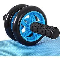 SONGMICS AB Roller AB Wheel Rueda para Flexiones Entrenamientos de Abdominals Push Up con Cojín del Arrodillamiento SPU75P