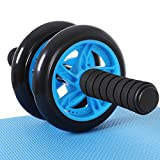 SONGMICS AB Roller AB Wheel Rueda para Flexiones Entrenamientos de Abdominals Push Up...