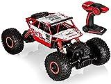 Top Race® Rock Crawler (per arrampicarsi sulle rocce) Telecomandato della , Veicolo Telecomandato Monster Truck 4WD, Veicolo Fuoristrada, Radiocomando digitale 2.4Ghz Pile Incluse (TR-130)