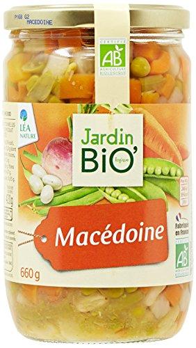 Jardin Bio Macédoine 660 g - Lot de 3