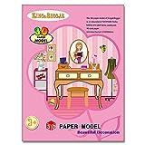 zantec Spielzeug für Kinder 3D Origami Modell Kindergarten Handbuch DIY Produktion Kinder Intellektuelle Entwicklung Puzzle Spielzeug Ornament Paper Model