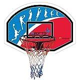 Basketballbrett 90 x 60 cm Basketballkorb Basketballnetz Basketball-Set Netz