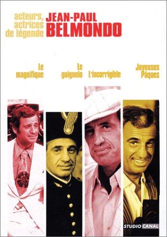 Bild von Coffret Jean-Paul Belmondo 4 DVD - Vol. 1 : Le Magnifique / Le guignolo / L'incorrigible / Joyeuses Pâques