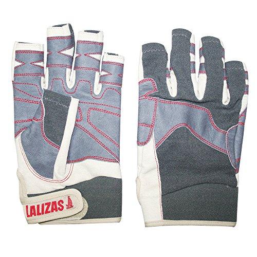 Lalizas Segelhandschuhe aus Amara Leder mit fünf freien Fingern, in den Größen S bis XXL (L)
