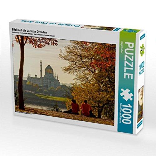Preisvergleich Produktbild Blick auf die Jenidze Dresden 1000 Teile Puzzle quer: Dresden im Herbst (CALVENDO Orte)