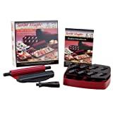 For novice or expert chefs, this sushi kit provides a way to turn out professional-quality sushi;Includes a rolling device for sushi rolls, a nigiri 2-part mold-and-press tool, and a recipe handbook and instructions;Only home-kit sushi roller that ma...