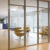 I.Sunny Pellicola Privacy Vetro Protezione Pellicola Solare Finestra Adesiva Window Film,1.5Ft X 6.5Ft(45 x 200Cm)