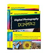 Digital Photography For Dummies, DVD + Book Bundle by Barbara Obermeier (2008-11-24)