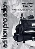 Can-Can. Galop Infernal dde l'opéra «Orpheus dans le milieu» pour ensemble de salon (Partition de piano et voix)