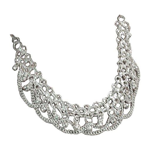 Halskette indischer Stil, als Bauchtanz, Tribal-Dance, Bollywood-Accessoire geeignet- Orientalischer-Schmuck