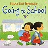Going to School: Miniature Edition (Usborne First Experiences)