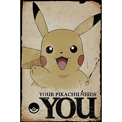Pokemon - Poster Pikachu Needs You #269