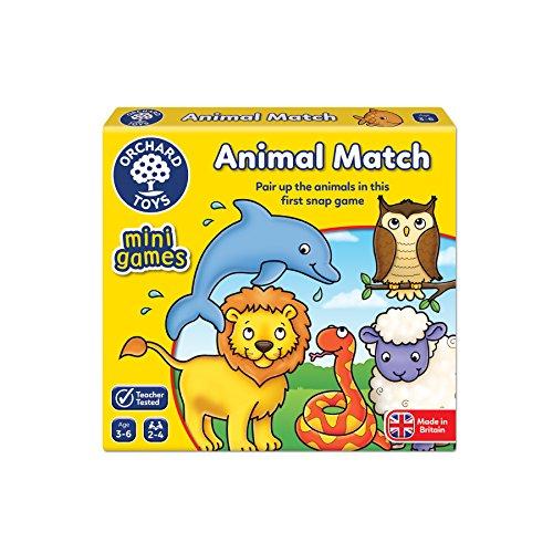 Orchard Toys Animal Match Game Stocking Filler