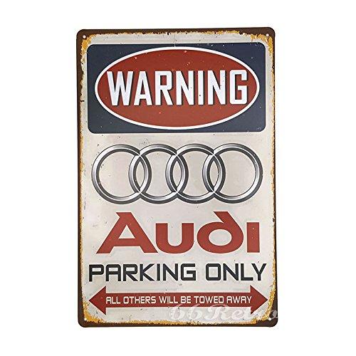 66retro-audi-parking-only-vintage-retro-metall-blechschild-wand-deko-schild-20cm-x-30cm