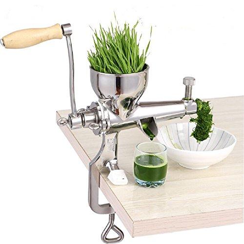 MinegRong Edelstahl Weizengras Juicer Manuelle Obst und Gemüse Weizen Samen Ingwer Granatapfel Presse Entsafter Manuelle Entsafter, Gewöhnlichen Absatz