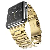 Uhrenarmband für Apple Watch Armband, MroTech Edelstahl Ersatzarmband iWatch Wrist Strap Band Luxus...